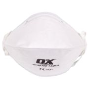OX Tools OX-S246301 OX FFP2 Fold Flat Respirator - Pack of 50