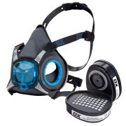 OX Tools S-481901PK Pro S450 Half Mask Respirator with P3 Filters