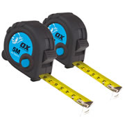 OX Tools T029105PK2 OX Trade Tape Measure Twinpack 5m Metric