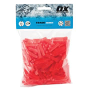 OX Tools T160605 Trade Tile Wedge Spacers 6mm - Pack of 500
