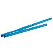 OX Tools OX-T500406 Trade 2 Piece Level Set - 1200 & 1800mm Trade Level