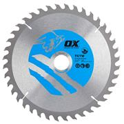 OX Tools CTW2353040 Ox Wood Saw Blade 235mm x 30mm x 40T