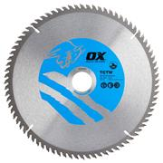 OX Tools CTW2353080 Ox Wood Saw Blade 235mm x 30mm x 80T