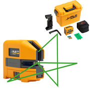 Pacific PLS180GRKIT PLS Green Palm Laser Line Tool Kit - Rubberised