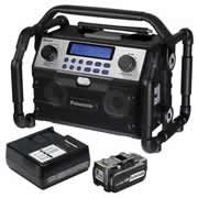Panasonic EY37A2BPACK Panasonic Bluetooth Radio With 3.0ah Battery & Charger