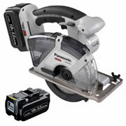 Panasonic EY45A2LJ2G31 Panasonic 14.4v/18v Li-ion Multi-Purpose Cutter - 2 x 5.0Ah Batteries