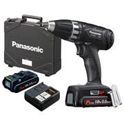 Panasonic EY7451PN2G31 Panasonic EY7451PN2G31 18V Drill Driver with 2 x 3Ah Batteries, Charger and Case