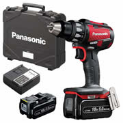 Panasonic EY74A2LJ3G31R2 18v Brushless Drill Driver with 2 x 5.0Ah Batteries