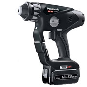 Panasonic EY78A1LJ2G31 Panasonic 18v Li-ion SDS+ Hammer Drill Driver - 2 x 5.0Ah Batteries