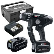 Panasonic EY78A1LJ2GT31 Panasonic 18v Li-ion SDS+ Hammer Drill Driver - 2 x 5.0Ah Batteries in Tanos