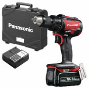 Panasonic EY79A2LJ2G31R1 Panasonic 18v Brushless Hammer Drill Driver 1 x 5.0Ah Battery
