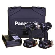 Panasonic EYC215LS2F 14.4v Brushless 2 Piece Kit with 2 x 4.2Ah Batteries, Charger, Case and Bag