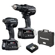 Panasonic EYC217LJ2G 18v Brushless 2 Piece Kit - 2 x 5Ah