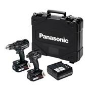 Panasonic EYC217LS2F 14.4v Brushless 2 Piece Kit with 2 x 4.2Ah Batteries, Charger, Case and Bag