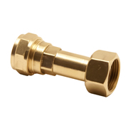 "Pegler 713007 15mm x 1/2"" Straight Swivel Tap Connector"