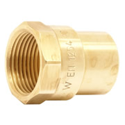 "Pegler 901092 Mercia 22mm x 3/4"" Straight Female Connector"
