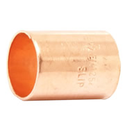 Pegler 901802 Pegler Mercia 15mm End Feed Straight Coupling - Pack of 10