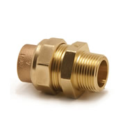 "Pegler 901896 Pegler Mercia 15mm x 1/2"" Straight Male Connector - Pack of 10"