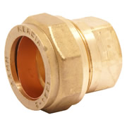 Pegler 903006 Mercia 15mm Stop End Compression Fitting