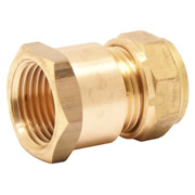 "Pegler 903032 Mercia 22mm x 3/4"" Female Coupling Copper Compression Fitting"
