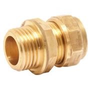 "Pegler 903052 Mercia 15mm x 3/4"" Male Coupling Copper Compression Fitting"