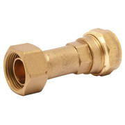 Pegler 903056 Pegler Mercia 15mm x 1/2'' Straight Tap Connector Compression
