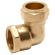 Pegler 903076 Pegler Mercia 15mm x 1/2'' Female Elbow Compression Fitting