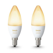 Philips Hue 929001301402 Philips Hue Bulb Twinpack - White Ambiance Single E14