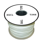 Pitacs IT760086 TIME 3 Core Round Flexible Cable 3183Y 0.75mm² White 50m