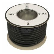 Pitacs IT760208 TIME 3 Core Rubber Flexible Cable 3183TRS 1.5mm² Black 10m