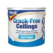 Polycell  Crack-Free Ceilings Smooth Matt 2.5 Litre
