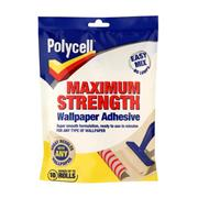 Polycell  Polycell Maximum Strength Wallpaper Adhesive 10 Roll