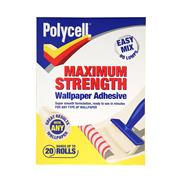 Polycell  Polycell Maximum Strength Wallpaper Adhesive 20 Roll