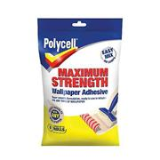 Polycell  Polycell Maximum Strength Wallpaper Adhesive 5 Roll