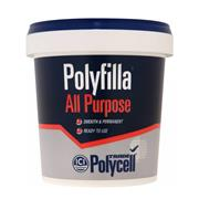Polycell 5084999 Polycell All Purpose Polyfilla Ready Mix 1Kg