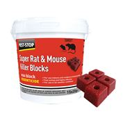 Pest-Stop  Super Rat & Mouse Killer Wax Blocks