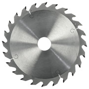 ITS PRO16524L 165mm 24 Tooth TCT Saw Blade (Coarse Cutting)