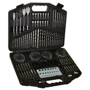 ITS DBS130 130 Piece Drill Bit and Screwdriver Bit Set