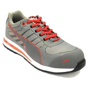 Puma XELERATE Puma Xelerate Knit Low Safety Trainers - Grey/Red
