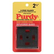 Purdy 144900535 Four Edge Carbide Scraper Replacement Blades