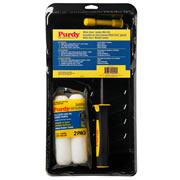 Purdy 14C810600 Purdy 4.5'' White Dove Jumbo Mini Set inc 2 x Sleeves