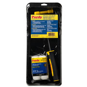 Purdy 14C810700 Purdy 4.5'' White Dove Jumbo Mini Set inc 2 x Sleeves