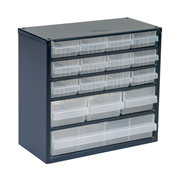 Raaco 137560 Raaco 137560 600 Series Small Parts Storage Cabinet with 16 Drawers