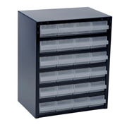 Raaco 137577 250 Series Storage Cabinet with 24 Drawers