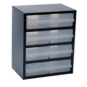 Raaco 137584 Raaco 137584 250 Series Storage Cabinet with 8 Drawers