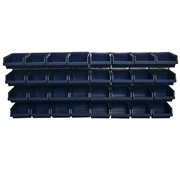Raaco 139182 Raaco 139182 Bin Wall Panel With 32 Bins