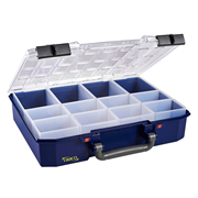 Raaco 144551 Raaco 144551 CarryLite 80 Service Case with 12 Assorted Inserts