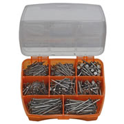 Rawlplug BBUCSETR General Purpose Nails 720 Piece Set