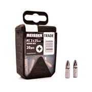 Reisser P-74893 Reisser PZ2 Screwdriver Bits - Pack of 20