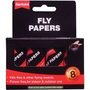 Rentokil  Rentokil Fly Paper - Pack of 8